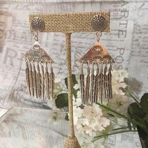 Sterling silver Native American made earrings